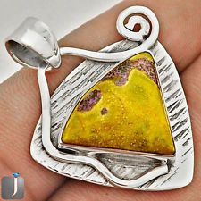 A outward expression of Atlantisite gemstone in a funky design of silver pendant..!! Explore more..!!  #silverpendant  #atlantisite  #jewelry  #jewelexi  #pendant  #silverjewelry