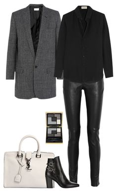 """Saint Laurent"" by sweetmel99 on Polyvore featuring moda e Yves Saint Laurent"