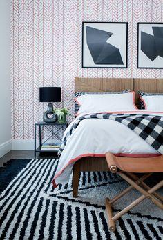 39. Westport Modern Farmhouse by Chango & Co. - Guest Bedroom Detail.jpg