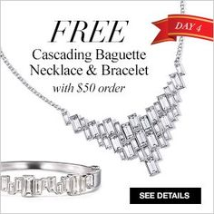 Avon Coupon Code 2015: BAGUETTE – Avon Free Gift (Avon Cascading Baguette Necklace & Bracelet) with your online Avon order of $50 or more at http://eseagren.avonrepresentative.com – Expires: midnight December 5, 2015