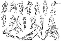 Gesture Drawing: Instant Totality of Expression - Nitram Charcoal Drawing Tips gesture drawing Drawing Tips, Drawing Reference, Drawing Drawing, Gesture Drawing, Drawing Practice, Charcoal Drawing, Old Pictures, Pin Up, Images