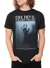 HOTTOPIC.COM - The Devil Wears Prada Black & Blue T-Shirt