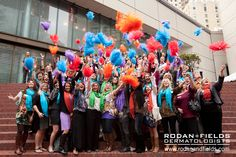 Celebrating before our parade! Level V Arrival travels to San Francisco #LVArrival #RodanandFields