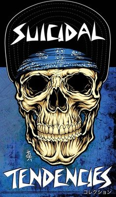 The pirate skull Suicidal Tendencies design phone cases plastic cover For Apple iphone 5 6 7 plus Black Metal, Heavy Metal Rock, Heavy Metal Music, Rock Posters, Band Posters, Concert Posters, Illustration Photo, Illustrations, Punk Poster