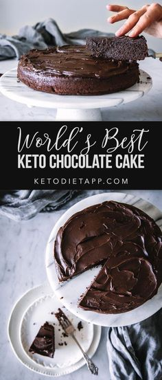 Keto Cake, Keto Cheesecake, Bon Dessert, Keto Dessert Easy, Healthy Desserts, No Sugar Desserts, Keto Snacks, Keto Chocolate Cake, Chocolate Recipes