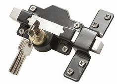 Long Throw Gate/Door Lock For Garden Gate   Key Lockable Both Sides