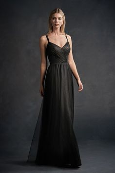 I like this one. The bottom has tulle. The to has lace.