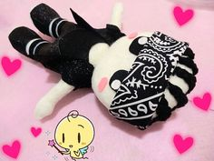 KPOP EXOK's Kai Plushie plush toy Wolf MV Version by kirbychan, $25.00