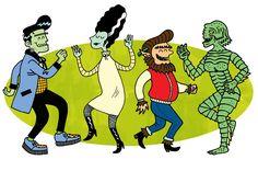 Image result for monster mash dance