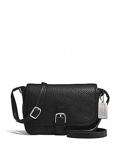 Coach Hadley Luxe Grain Leather Field Crossbody