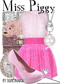 """""""Miss Piggy"""" by lalakay on Polyvore"""