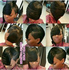 27 Piece Hairstyles, Quick Weave Hairstyles, Bob Hairstyles, Black Hairstyles, Braided Hairstyles, Pixie Haircuts, Love Hair, Great Hair, Gorgeous Hair
