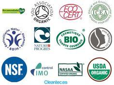Ingredientes INCI peligrosos en cosméticos y algunos certificados de cosmética econatural