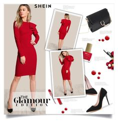 """""""SHEIN 7"""" by smajlovicelvira ❤ liked on Polyvore featuring ncLA, Marc Jacobs and Topshop"""