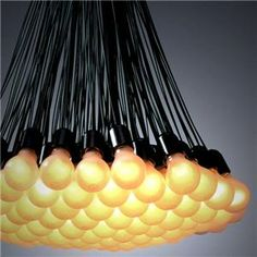 """85 Lamps"" chandelier by Rodi Graumans for Droog Design"