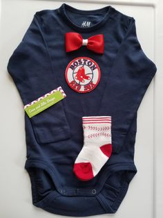 boston red sox onesie-boston red sox outfit-baby boy boston red sox-boston red sox baseball onesie-red sox onesie-red sock bodysuit by CocoandEllieDesign on Etsy
