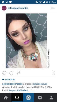 #colourpop #lip #swatch #purple #ultramattelips #lippiestix