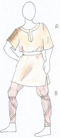 basic tunic and trousers
