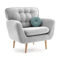 Fotoliu Malva Gri / Albastru #homedecor #interiordesign #inspiration #interiordesign #grey #livingroom #livingroomdecor #decoration #house Sofa, Couch, Love Seat, Living Room Decor, Accent Chairs, Armchair, Lounge, Blanket, Pillows