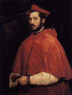 Tiziano: Alessandro Farnese (cardinal)