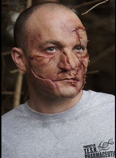 Special Effects Prosthetics & Makeup FX :: Patchwork Skin Prosthetic -