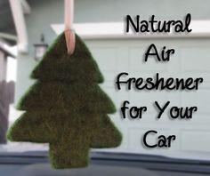 Natural Car Air Freshener: BrownThumbMama.com