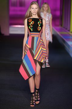 Peter Pilotto Spring 2015 Ready-to-Wear - Collection - Gallery - Look 1 - Style.com #ZenniFashionChallenge