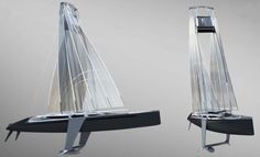 Feature: Radical New Sailboat Concept: Twin-Masted Swing Sail | YachtForums: The World's Largest Yachting Community