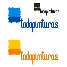segunda propusta presentada para el logotipo de Todopinturas