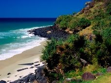 A rocky headland protected for future generations to enjoy. Photo: Queensland Government.
