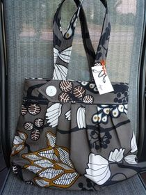 Love these bags! Made by a local teacher and a good friend. :)