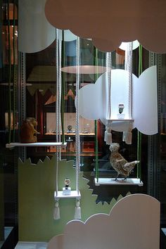 Vitrines Delaneau par Stéphanie Moisan - Genève, Janvier 2010