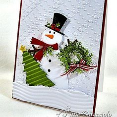 Snowman Ready For Christmas