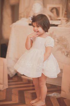 Vestido de Castlebaby para niñas y niñas de arras #flowergirl #pajes #tendenciasdebodas
