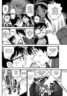 Read manga Detective Conan 876: The Romance Novelist online in high quality