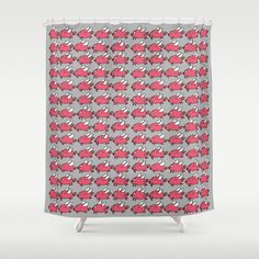 Flying Pigs Shower Curtain by adrijenroman Flying Pig, Roman, Reusable Tote Bags, Shower, Prints, Stuff To Buy, Rain Shower Heads, Showers