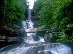 Hiking 'Raven Cliffs Waterfalls' in Chattahoochee State Park (Helen, GA)