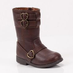 Everton Shoe - heart-shaped buckles