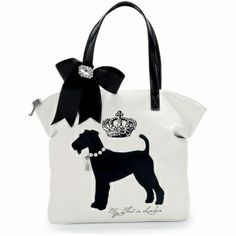 """Apparently I like their """"My Flat in London"""" collection!!  Heiress Large Top Zip Tote  available at #Brighton"""