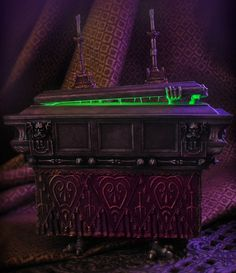 """Coffin by Jody Daily and Kevin Kidney  Retail: $75 Edition Size: 500 Medium: Resin and Metal, Alloy Dimensions: 7 1/2""""H x 7""""L x 2 1/2""""W  •• only 300 pieces were available as part of the Random Selection Process."""