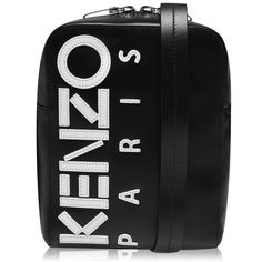 Update your day to drinks attire with this Leather Logo Cross Body Bag by Kenzo. Crafted in a luxurious leather, this piece boasts a zip closure to the main compartment. Complete with an adjustable cross body strap this bag is finished with Kenzo branding to the front.      #streetstyle #menswear #bag Mens Designer Accessories, Kenzo, Crossbody Bag, Menswear, Branding, Logos, Cross Body, Leather, Closure