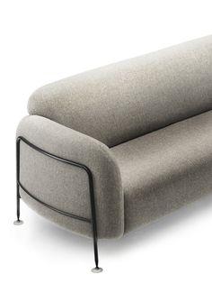 Mega 2 Seater Sofa Fabric Type A | Massproductions AB