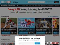 scorebig.com #sports #tickets #concerts #games