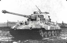 tiger ii   tiger ii battle of the bulge tamiya 1 35 scale by chris wauchop