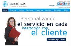 InnoBalears, proyecto web corporativo.