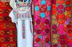 Bordado De Flores Mexicano Fotos de archivo - Imagen: 29344233