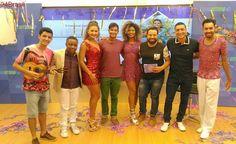 """Folia Vitória: """"Pega no Samba"""" dá show durante programa e promete brigar pelo título"""