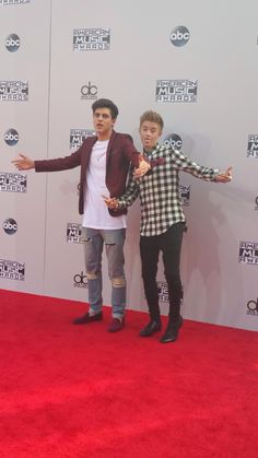 Jack and Jack on the red carpet!