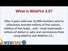 WEBFIRE 3.0   Outrageous New Software Automatically Grabs Free Traffic And Leads You Can Cash In On For Any Niche  Watch this eye-opening demo of the most powerful software ever that lets you easily generate free targeted traffic and send it anywhere you want... to your own product, to affiliate and CPA offers, or to clients who pay you $1,000  a month for your services.    http://www.webfire.com/a/?id=33509