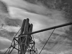 #lackoj #industrial #black&whitephotography #cloudy